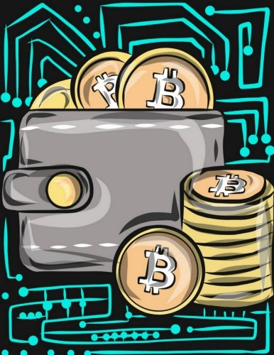Cryptocurrency Notebook: Bitcoin Wallets: Cryptocurrency Ledger Journal for Bitcoin, Ethereum, Litecoin and Altcoin Traders, Digital Investors and ... Gifts HODL On We're Going to the Moon)